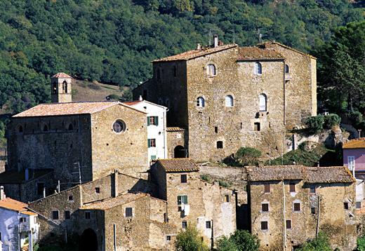 Il Castello di Montorgiali