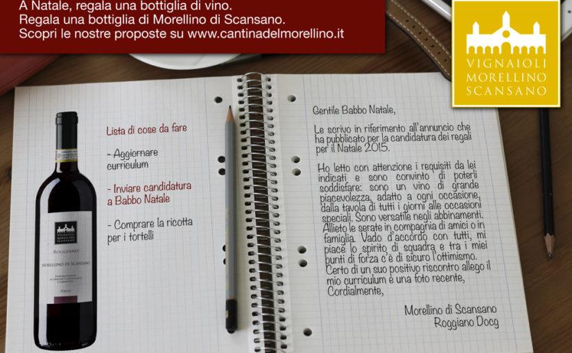 Idee regalo per Natale firmate Vignaioli del Morellino di Scansano
