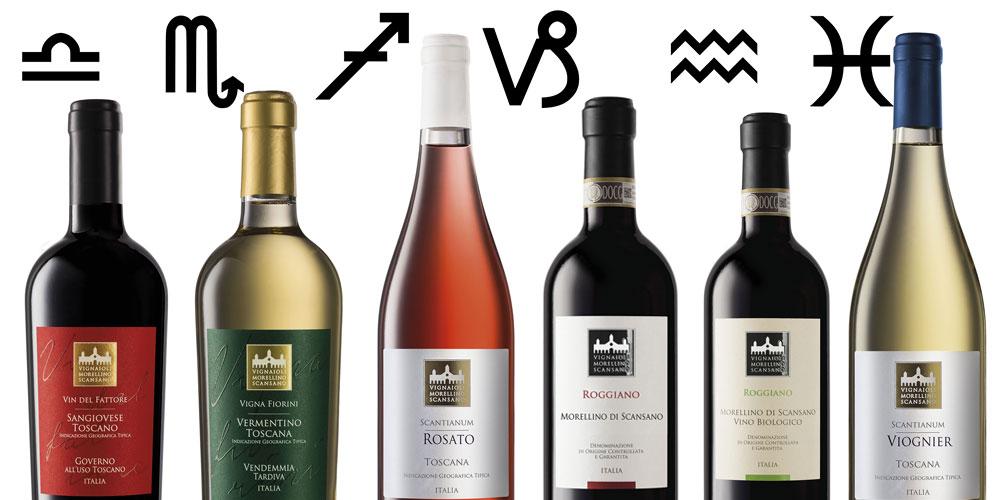 oroscopo e vino