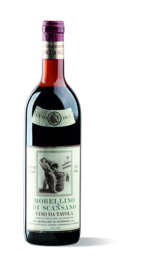 la nostra prima bottiglia di Morellino di Scansano