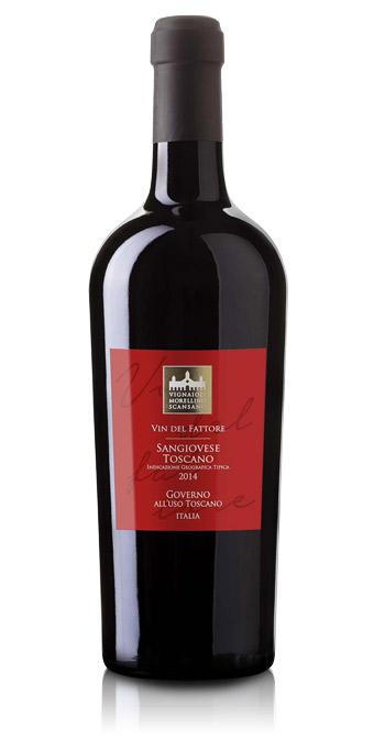 Fin Sangiovese Toscano Igt Vin del Fattore - Vignaioli del Morellino HD-06